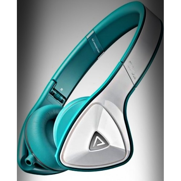 Monster DNA On-Ear (WHITE TEAL)
